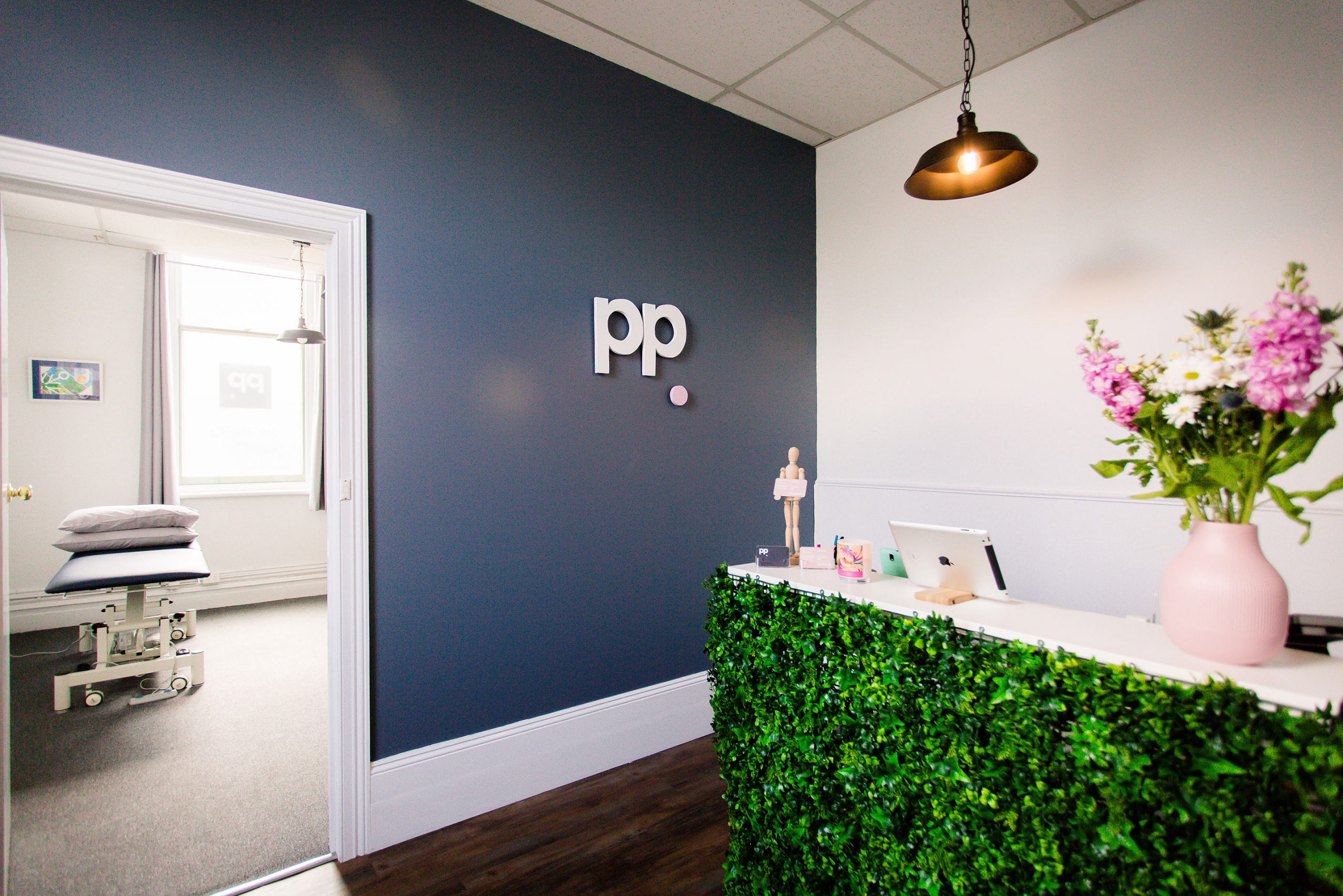 Reception area physio pod geelong | Podiatry and Physio Clinic