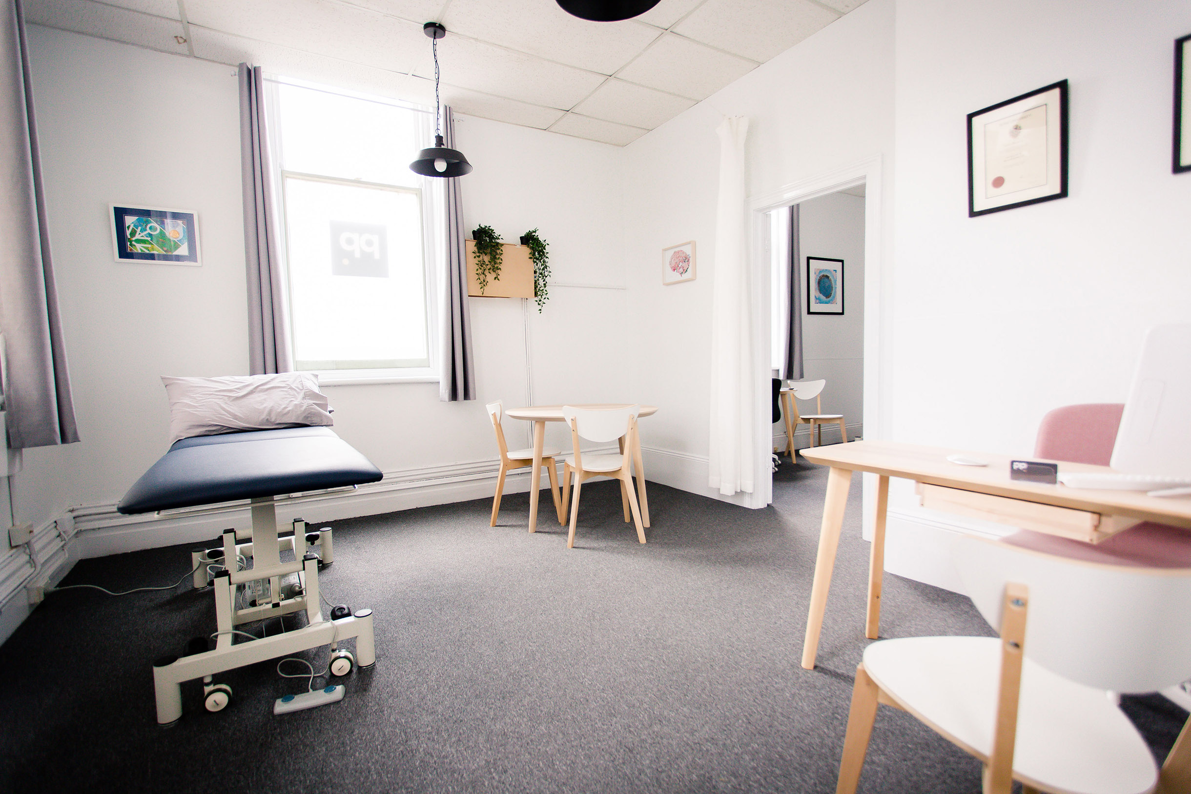Geelong Physiotherapy treatment rooms